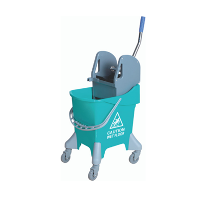 Picture of Green Mop Bucket & Wringer