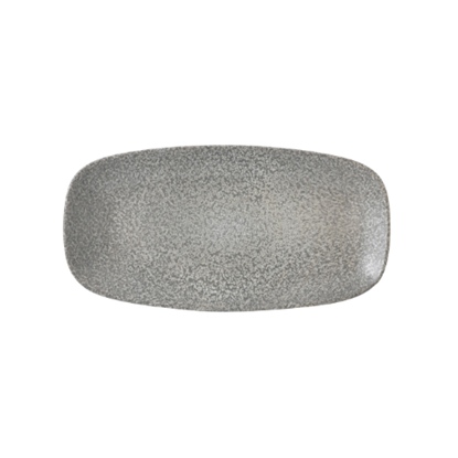 Dudson Evo Origins Grey Oblong Plate Large
