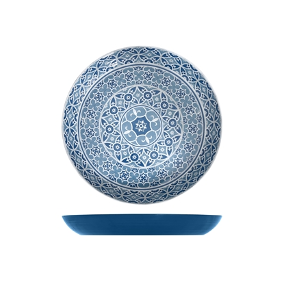 Marrakesh Blue Melamine Bowl 3.5L