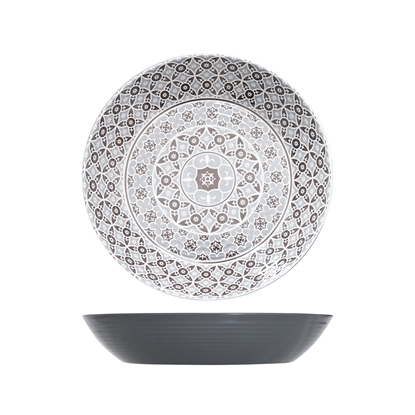 Marrakesh Grey Melamine Bowl 7.5L
