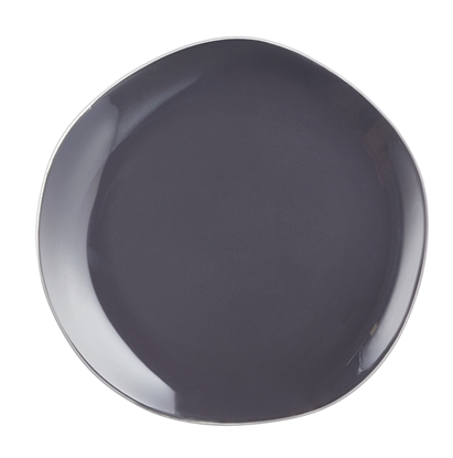 "Picture of Rocaleo Dark Grey Coupe Plate 10.6"" (27cm)"