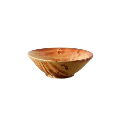 Tapered Serving Bowl 'Fire' 30cm