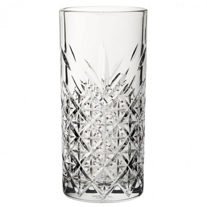 Timeless Vintage Long Drink Glass 10.5oz