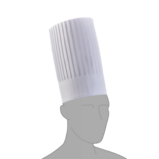 Pleated Chef Hat