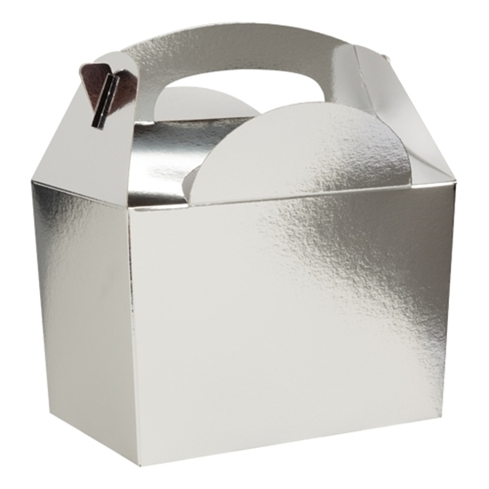 Picture of Silver Metallic Party Box