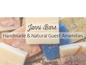 Janni Bars: Handmade & Natural Guest Amenities