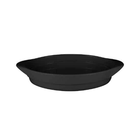 RAK Neo F Volcano Black Oval Platter 37.2x25x6cm