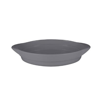 RAK Neo F Stone Grey Oval Platter 37.2x25x6cm