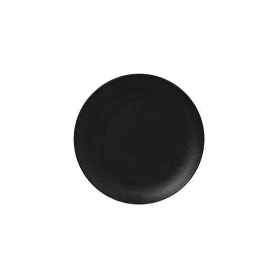 RAK Neo Volcano Black Flat Coupe Plate 27cm