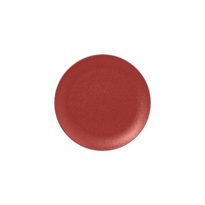 RAK Neo Magma Red Flat Coupe Plate 27cm