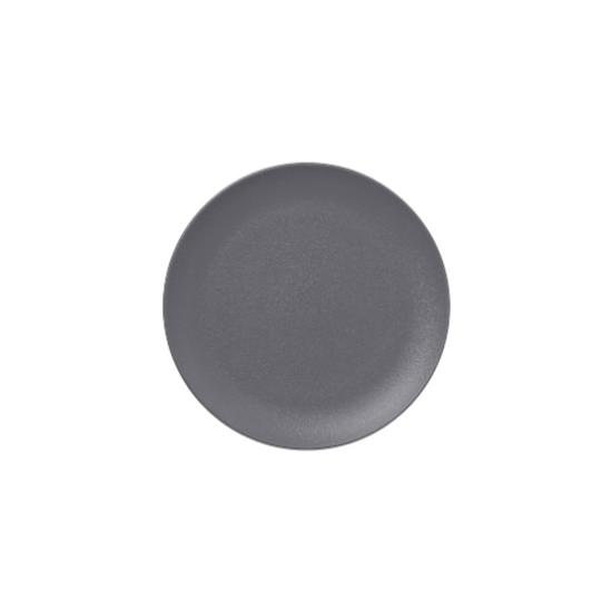 RAK Neo Stone Grey Flat Coupe Plate 27cm