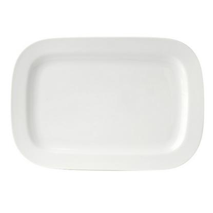 """Royal Porcelain Titan Rectangular Plate 9"""""""