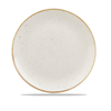Churchill Stonecast White Coupe Plate