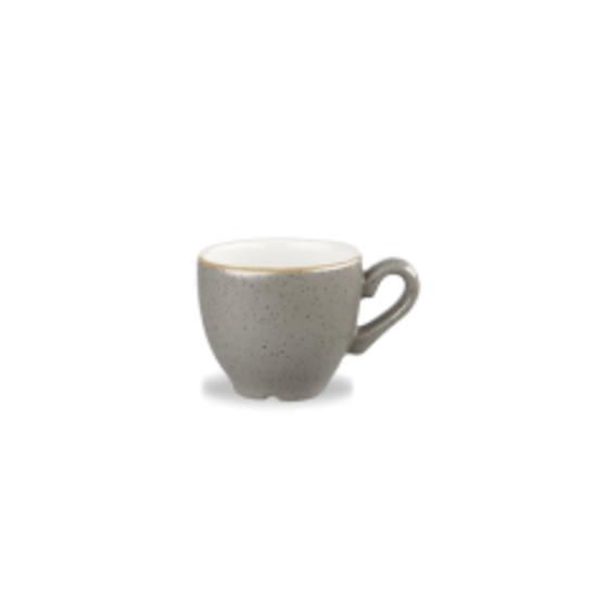 Churchill Stonecast Peppercorn Espresso Cup