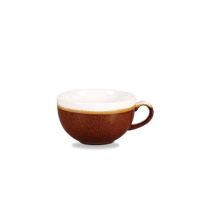 Churchill Monochrome Cinnamon Cappuccino Cup