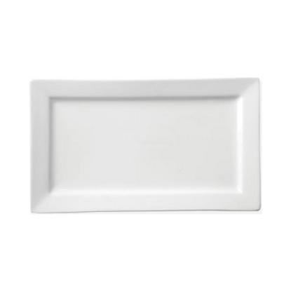 Apollo White Rectangular Plate