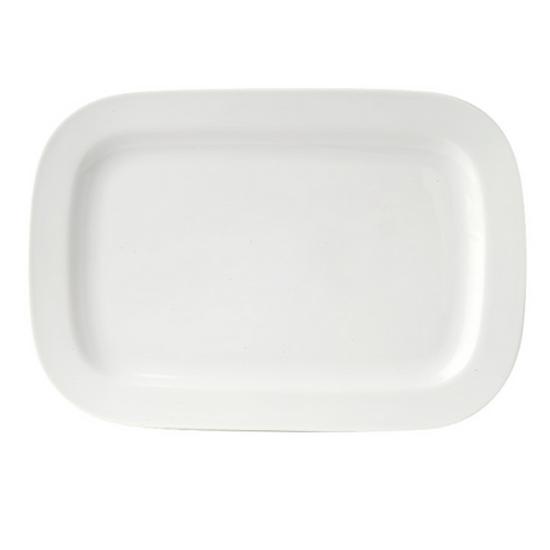 """Royal Porcelain Titan Rectangular Plate 12.5"""""""