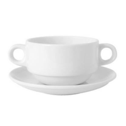 Royal Porcelain Titan Handled Soup Cup
