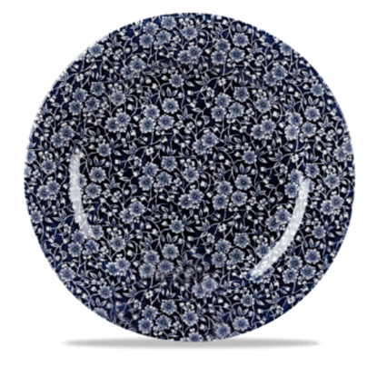 """Vintage Prints Willow Plate 12"""""""