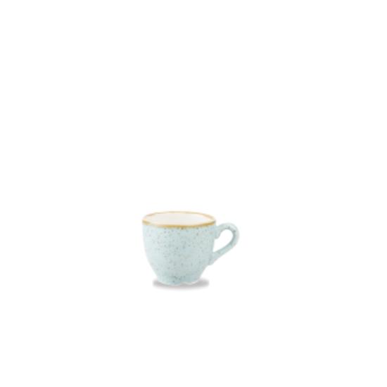 Churchill Stonecast Duck Egg Espresso Cup