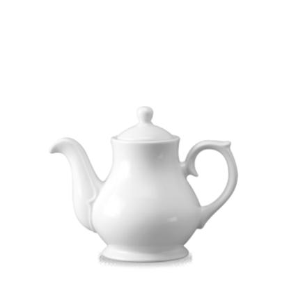 Churchill Classic White Sandringham Tea/Coffee Pot