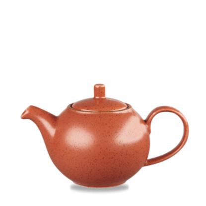 Churchill Stonecast Spiced Orange Teapot 15oz