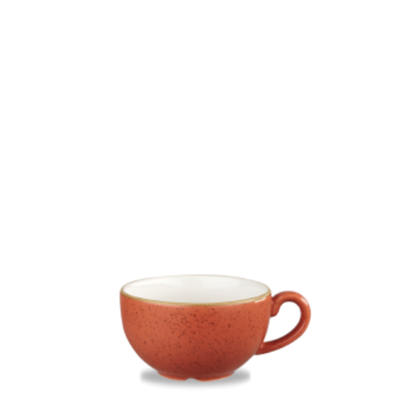 Churchill Stonecast Spiced Orange Cappuccino Cup 12oz