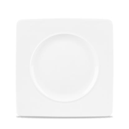 "Alchemy Ambience Square Rim Plate 8.25"""