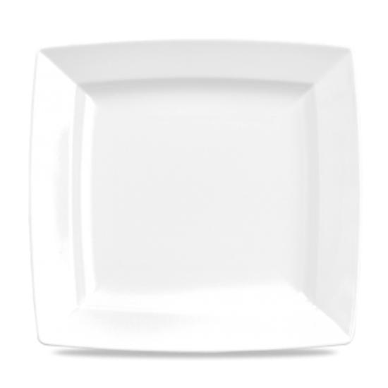 Alchemy White Energy Square Plate 11""