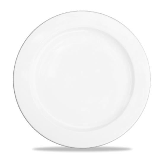 """Alchemy White Plate 10.5"""""""