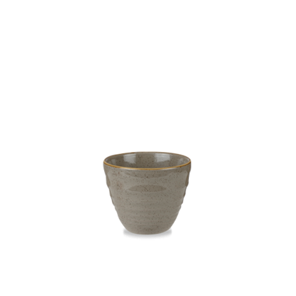 Bit On The Side Stonecast Grey Ripple Chip Mug 10oz