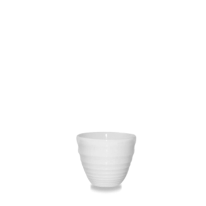 Bit On The Side White Ripple Dipper Pot 2oz