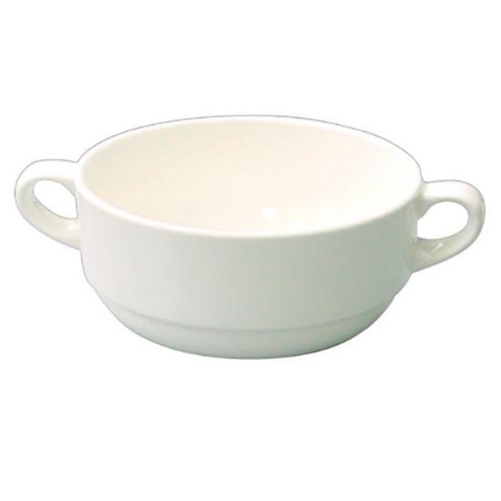 Churchill Alchemy White Consomme Bowl 10oz