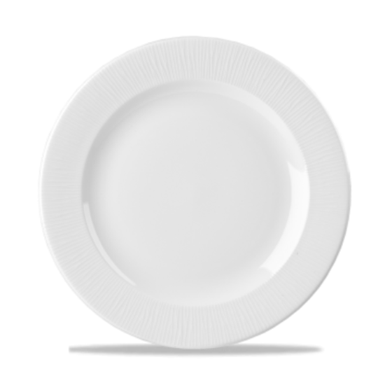 "Churchill Bamboo White 10 7/8"" Plate"