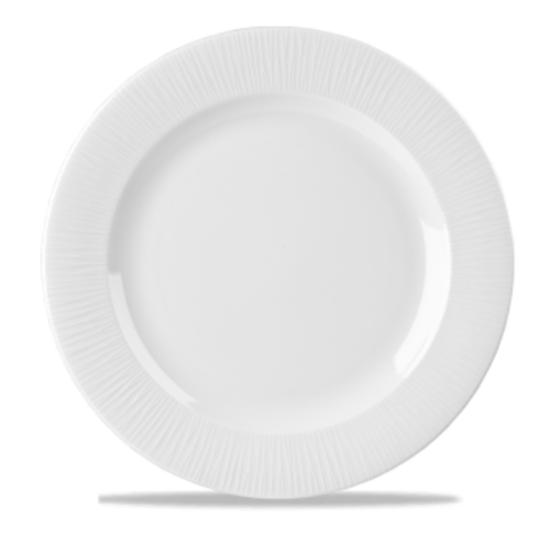 "Churchill Bamboo White Plate 12"""