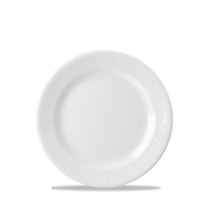 "Churchill Bamboo White Plate 6 5/8"""