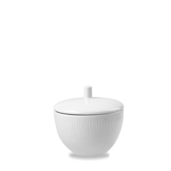 Churchill Bamboo White Sugar Bowl 8oz