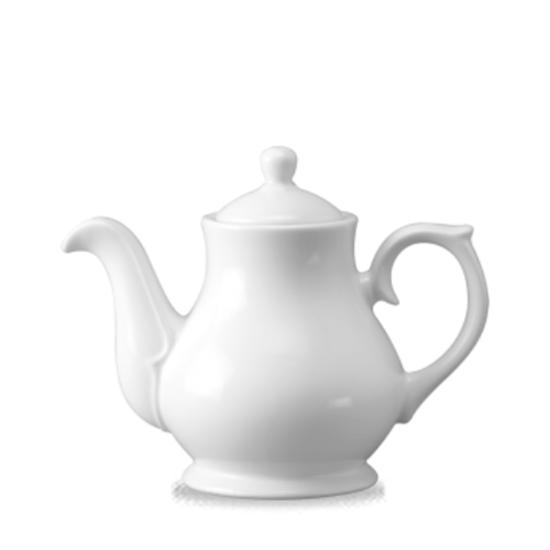 Churchill Classic Sandringham Tea/Coffee Pot White 30 Oz
