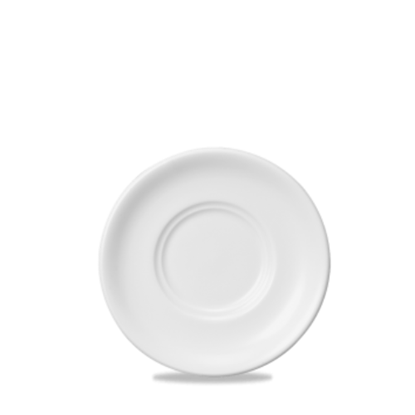 """Churchill Classic Soup/Consomme Saucer White 6"""""""