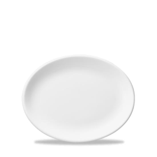 "Churchill Classic White Oval Plate / Platter 10"""