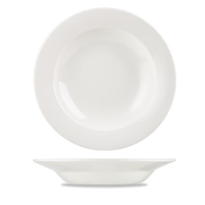 Churchill Classic White Rimmed Pasta Plate 30cm