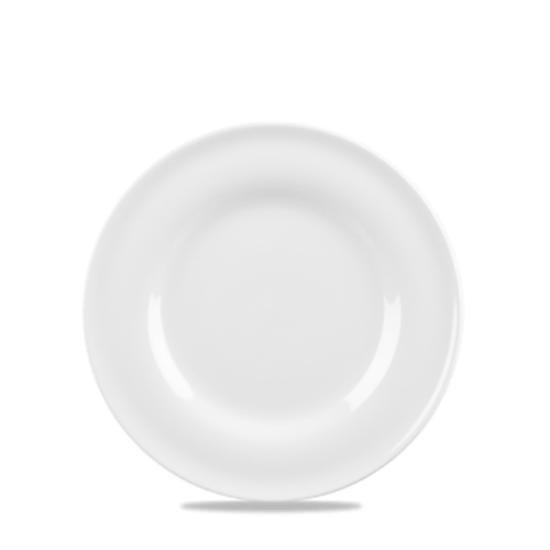 """Churchill Contempo White Plate 6.5"""""""