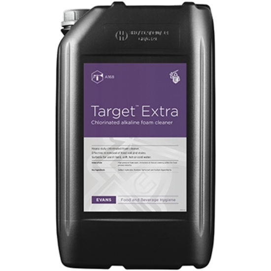 Target Extra – Chlorinated Foaming Detergent 25L