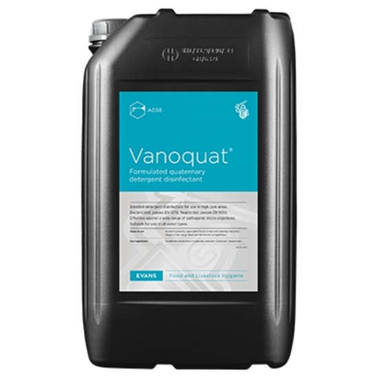 Vanoquat Disinfectant 25L