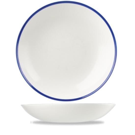 Churchill Retro Blue Coupe Bowl 18.2 Cm