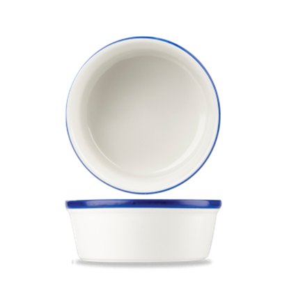 Churchill Retro Blue Pie Dish 13.5cm (17.6oz)