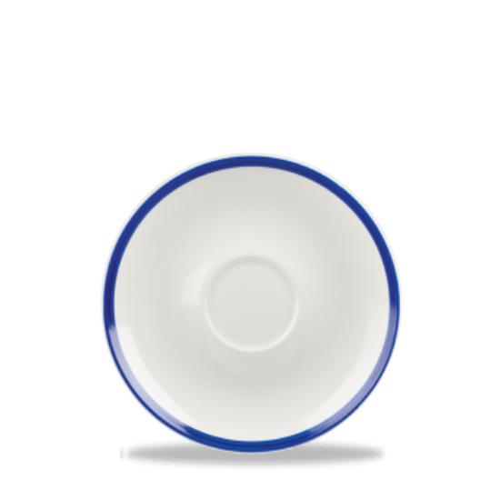Churchill Retro Blue Saucer 16cm