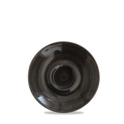 """Churchill Monochrome Onyx Cappuccino Saucer 6.25"""""""