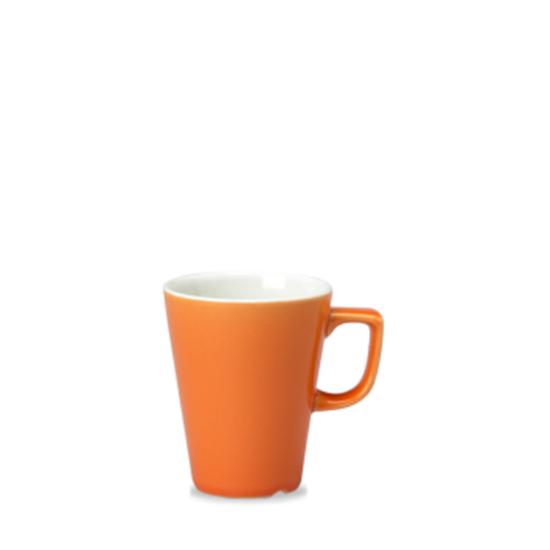 Churchill New Horizons Orange Cafe Latte Mug 12oz (34cl)