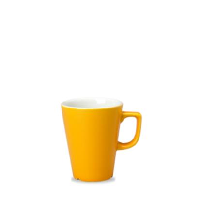 Churchill New Horizons Yellow Cafe Latte Mug 12oz (34cl)